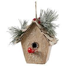 7 birch bird house ornament target