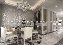 2013 new design decorative metallic silver foil wallpaper buy