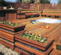 home design deck designs with benches cabinetry plumbing