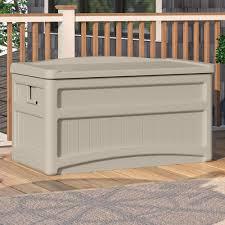 73 gallon wheeled deck box