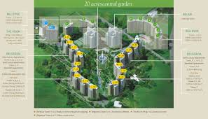 Map Central Park Central Park 2 Resorts Apartments On Sohna Road Gurgaon