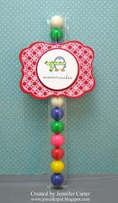 Gumball Party Favors Jen U0027s Ink Spot Christmas Party Favors