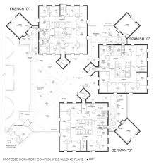german house plans gates hall halls housing ttu extraordinary dormitory room plans
