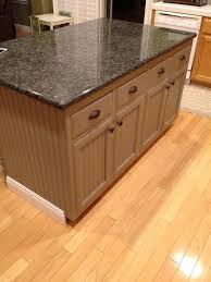 brilliant kitchen island corner trim with metal cup drawer handles