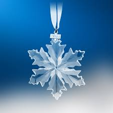 swarovski snowflake 2014 annual edition ornament 5059026