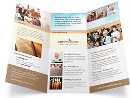 free church brochure templates for microsoft word church tri fold brochure template free fieldstation co