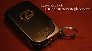 lexus gs300 key lexus key fob battery replacement quick u0026 easy youtube