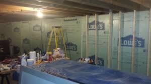 Spray Insulation For Basement Walls 100 Spray Foam Basement Walls Before Framing Applying
