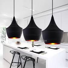 Black Kitchen Lights Light Black Shade Creative Classic Pendant Kitchen Lights