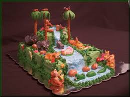 rain forest baby shower cake cakecentral com