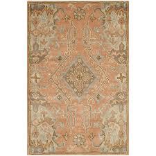 Large Orange Rug Amazon Com Safavieh Wyndham Collection Wyd203a Handmade