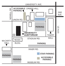 Uf Parking Map Contact Us University Of Florida Performing Arts