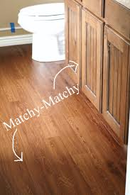Laminate Stick On Flooring Master Bathroom Peel And Stick Wood Plank Flooring 45 Renovate