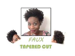 low cuts with natural hair 146 natural hair a faux tapered cut style twistout fine thin