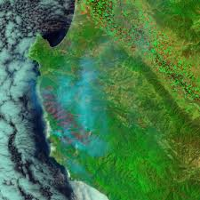 Wildfire Map Manitoba by Wildfire Along The California Coast Natural Hazards