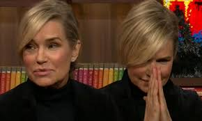 natural color of yolanda fosters hair yolanda foster finds out source of lisa rinna s gossip over