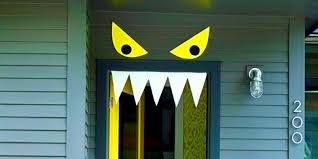 decoration attractive halloween door decorating ideas