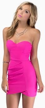 hot pink dress dress hot pink tobi mini dress pink dress bodycon dress wrap