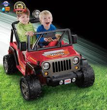 jeep power wheels black fisher price power wheels jeep wrangler lava red u0026 black ebay