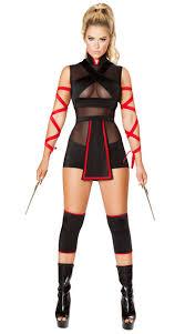 Halloween Costume Ninja Ninja Striker Costume Ninja Costume Black Red Ninja
