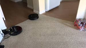 Carpet Versus Laminate Flooring Roomba 980 Carpet Boost Vs Hardwood Floor Transitions Youtube