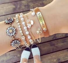 gold bracelet with pearl charm images Jewels 2015 jewelry hand jewelry gold jewelry jewelry jpg