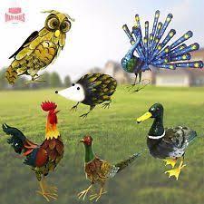 birds garden sculptures ornaments ebay