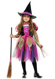 toddler witch costume child rainbow glitter witch costume costumes