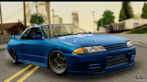 nissan skyline 2015 blue nissan skyline r32 targa for gta san andreas