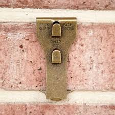 brick clips for christmas lights standard size brass brick clip bricks container store and queen size
