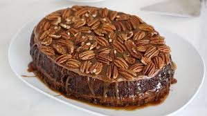 slow cooker turtle upside down cake recipe tablespoon com