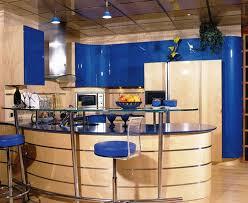 cuisine bleu citron cuisine bleu citron spot meuble cuisine encastrable with