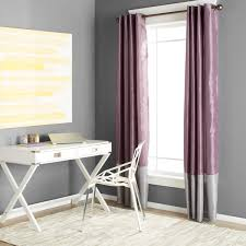 Grey And Purple Curtains Clay Alder Home Frisco Prima Grey Purple 84 Inch Curtain Panel