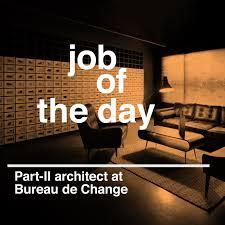 bureau de change 3 of the day part ii architectural assistant at bureau de