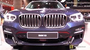 2018 bmw x3 m40i exterior and interior walkaround debut at