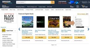 amazon black friday deals web site kindle store u2013 a guide to deals special sections and features