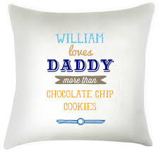 fathers day personalized gifts name more than personalised fathers day cushion