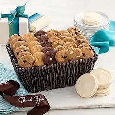 mrs fields gift baskets thank you cookie gifts gift baskets delivery mrs fields