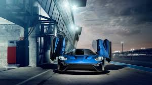 butterfly doors blue ford gt butterfly doors cars desktop hd wallpaper