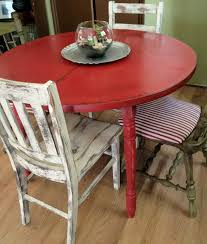 distressed round dining table distressed round kitchen table chairs d vintage home decor