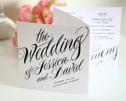 tri fold invitation template wedding paper the lyons