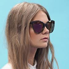 quay australia i love lucy sunglasses in grey luxe gifts