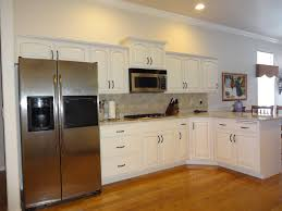 Dover White Walls by Photo Gallery Refinishing Cabinets Boise
