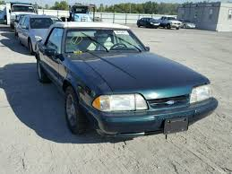 1990 mustang coupe for sale 1facp44e9lf158723 1990 green ford mustang on sale in il