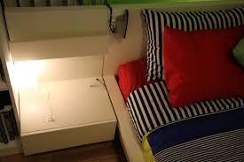 Ikea Malm Nightstand Medium Brown Table Decorative Ikea Malm Floating Bedside Table Nightstand
