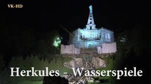 Herkules Bad Wildungen Herkules Kassel Wasserspiele Bergpark Wilhelmshöhe Beleuchtet