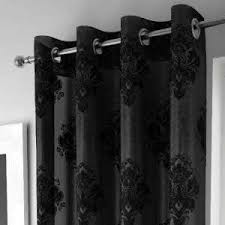 Black And Grey Curtains Voile Curtains Voile Panels Black Grey Colours Affordable Prices