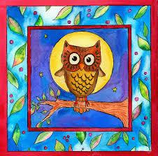 owl painting by pamela corwin