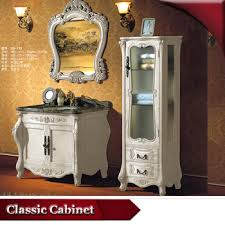 Ready Made Bathroom Cabinets by Hs G719 Washbasin With Ready Made Solid Wood Mirrored Bathroom