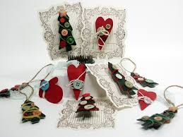 recycled paper bag pins ornaments thefrugalcrafter s weblog